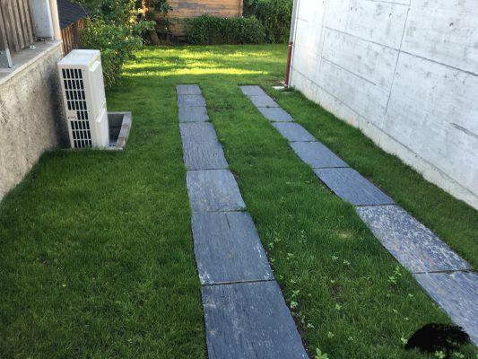 clôtures et dallage - Les Jardins d'Orion